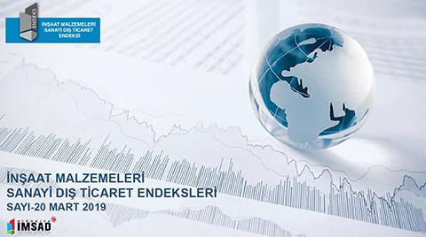 Türkiye İMSAD Dış Ticaret Endeksi Mart 2019 Sonuçları Açıklandı