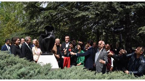 Seğmenler Parkı ve Ankara, İlhan Koman Heykeli'ne Kavuştu