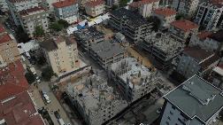 Kartal'da Yıkılan Binaların Yerine Yeni Binalar Yapılıyor