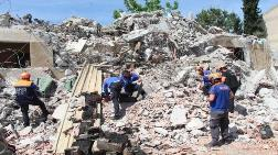 Burdur'da Kentsel Dönüşüm Evlerinde Deprem Tatbikatı
