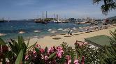 Bodrum'un Belediye Plajlarında Şezlong Olmayacak