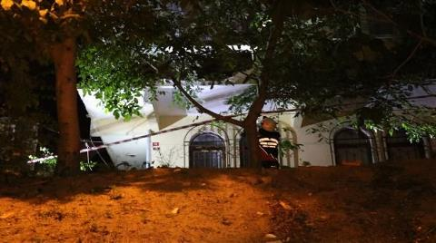 Beykoz'da İki Katlı Binanın Duvarı Yıkıldı