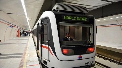 İzmir Narlıdere-Fahrettin Altay Metrosu'nda Son Durum