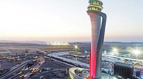 İstanbul Havalimanı'nda İnişlere Rüzgar Engeli