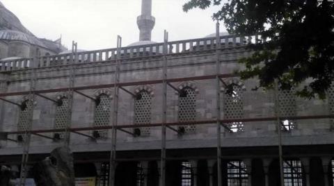 Sultanahmet Camisi'nde Tartışma Yaratan Restorasyon