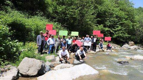 Trabzon'daki Galanima Deresi'ne HES Tehdidi