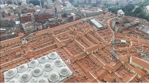 Tarihi Kapalıçarşı'nın Çatısı ve Altyapısı Tamamlandı