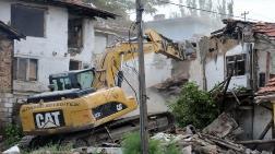 Kentsel Dönüşüm - Ankara Altındağ'daki 50 Metruk Bina Yıkıldı