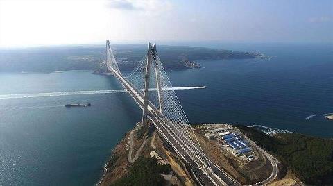 Bakanlıktan Yavuz Sultan Selim Köprüsü'ne Kur Ayarı