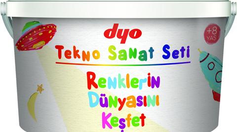 "DYO'dan 2 Bin 500 Çocuğa ""Tekno Sanat Seti"""