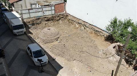Üsküdar'da İnşaat Çalışmasında Tarihi Kalıntılar Bulundu