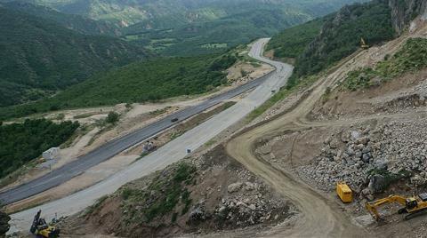 Türkiye'nin En Tehlikeli Yollarından 40 Virajlı Geçit, Tünelle Geçilecek
