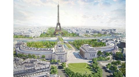Eyfel Kulesi'ne Yeni Park Planı