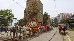 Antalya'da Faytonculuk Sona Erdi