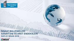 İMSAD Dış Ticaret Endeksi Nisan 2019 Sonuçları Açıklandı