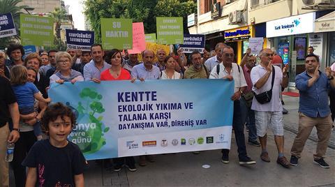İzmir'de 'Ekolojik Mücadele Yürüyüşü'