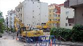 Avcılar'da Mühürlenen Binalardan Biri Yıkıldı
