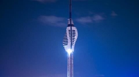Çamlıca Radyo Kulesinin Yüzde 85'i Tamam