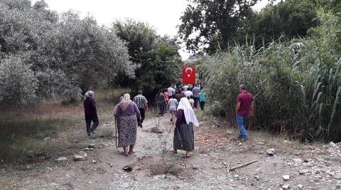 Aydın'da Köy Halkı Jeotermal Alanını Mühürledi