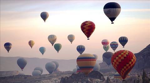 Kapadokya'da İlk Kez Uluslararası Sıcak Hava Balon Festivali Düzenlenecek