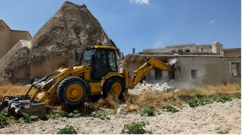 Kapadokya'da 17 Yapının Yıkımı İçin Karar Alındı