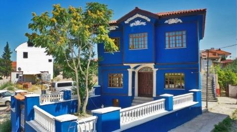 Denizli'deki Mavi Konak Restore Edildi