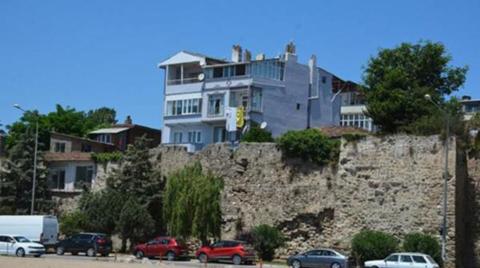 Sinop Kalesi'nde Konut İşgali