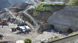 Eğribel Tüneli'nde Kazı Çalışmaları Tamamlandı