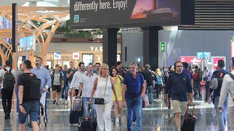 Havalimanlarından 6 Ayda 94,8 Milyon Yolcu Geçti