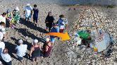 Caretta Caretta Kafeslerini Çöplük Zanneden Var