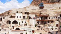 Kapadokya'da Doğal Kayalığa Yapılan Asansör Kaldırıldı