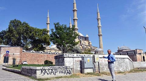 Selimiye Camisi'nde Görüntü Kirliliği