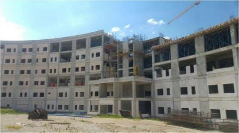 Mamak Devlet Hastanesi'nin İnşaatı Durdu