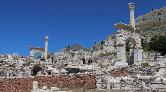 Sagalassos Antik Kenti'ne Turist İlgisi