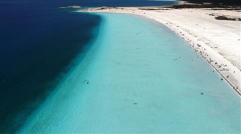 Salda Gölü'ne Günde 30 Bin Ziyaret