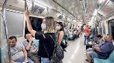 Metroda Kirli Hava Uyarısı