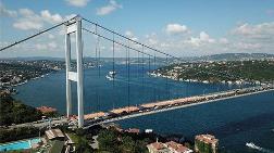 Fatih Sultan Mehmet Köprüsü'ndeki Çalışmalar Sürüyor