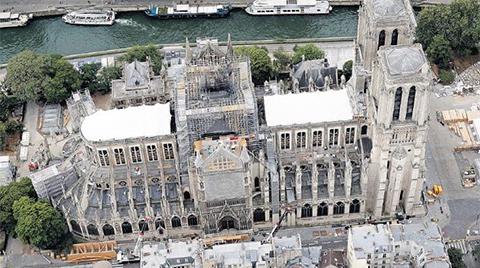 Notre Dame Yine Yanabilir