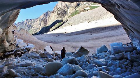 Cilo Dağları'ndaki Buzullar Eriyor