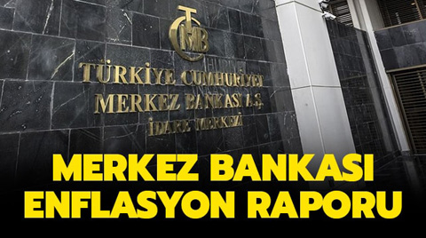 Merkez Bankası Enflasyon Tahminini Düşürdü