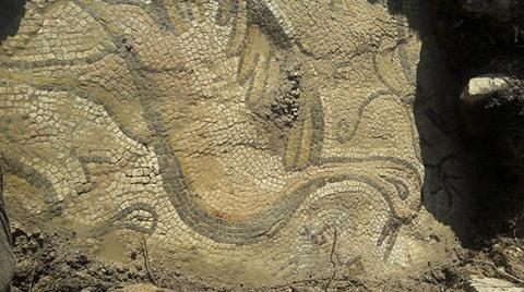 Bizans Dönemine Ait Mozaik Bulundu