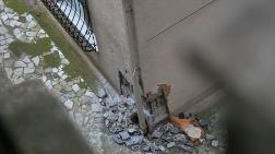 Sarıyer'de Kolonları Patlayan Binanın Tahliyesine Başlandı