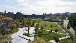 Tarihi Surlardaki Millet Bahçesi Tamamlanıyor
