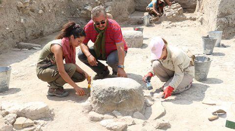 Amasya'da 2500 Yıllık Posta Merkezi Kalıntıları Bulundu