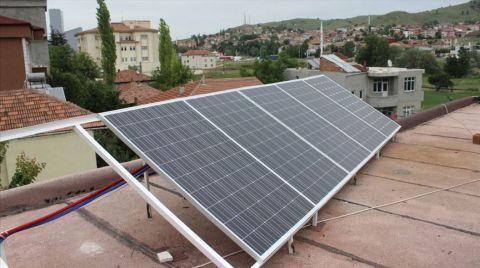 Lisanssız Güneş Santrallerinde Elektrik Üretimi Yüzde 23,8 Arttı