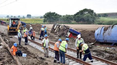 Bakanlık'tan Çorlu Tren Kazası İçin Rapor