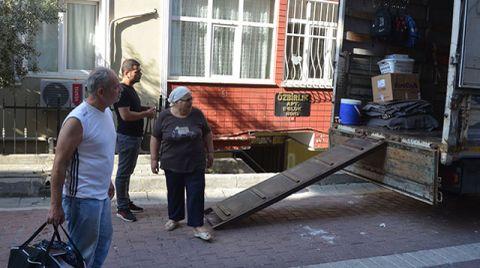 Avcılar'da Mühürlenen Binada Tahliyeler Sürüyor