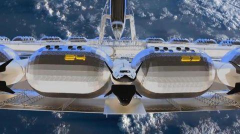 Yapay Yer Çekimli Uzay Oteli 2025'te Açılacak