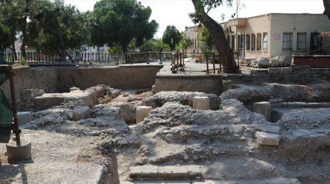 Manisa'da Helenistik ve Roma Dönemi Tapınağı Bulundu