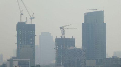 Endonezya'da Hava Kirliliği Kritik Seviyeye Ulaştı